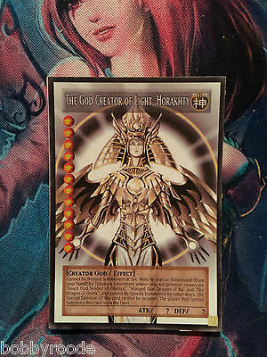 Horakhty Creatore Della Luce Yu Gi Oh Orica Anime Style The God Creator Of Light