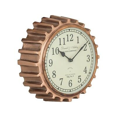 Sterling Industries Aged Copper Clock, Aged Copper - 8984-013