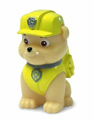 Kids Paw Patrol Illumi-Mate Rubble Colour Changing Bedroom Night Light Brown