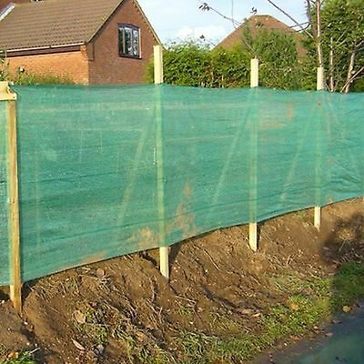 1M X 50M Heavy duty windbreak shade netting green privacy fence with eyelets