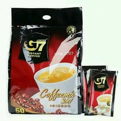 Trung Nguyen G7 Instant Coffee 3in1 Coffeemix 16g x 20, 25, 50, 100, 150 sticks