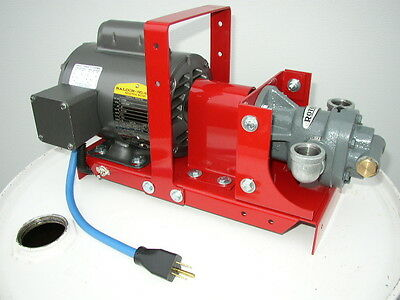 New Redline Waste Oil Transfer Pump,Heaters,Burners,Furnace,10 GPM,Self Primeing