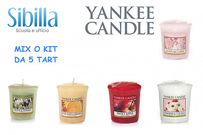 Yankee Candle Votivo Sampler Mix O Kit Da 5 Sampler Fragranze Miste Votive