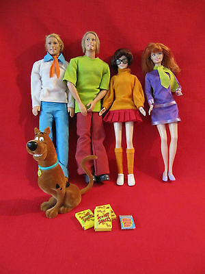 Barbie Scooby Doo, Fred, Daphne, Shaggy, Thelma Gang~5 pc Lot~Nice Condition!