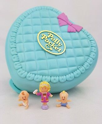Polly  pocket bathtime fun  Complete 1994  100% Complete  excellent