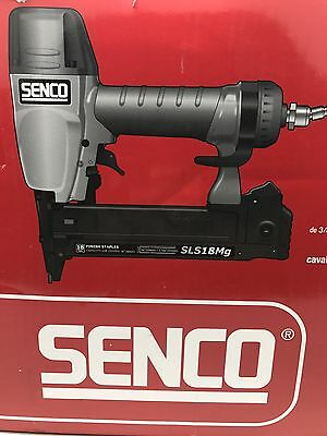 "BRAND NEW SENCO SLS18MG, 18-Gauge 1-5/8"" Medium Wire Stapler 1W0021N"