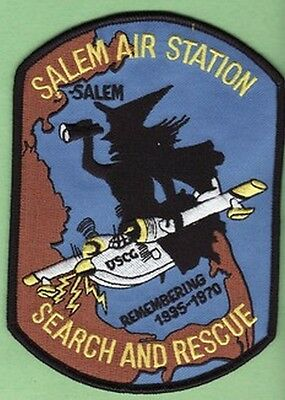 Salem Mass Air Station Coast Guard Uscg Search Rescue Witch On Plane