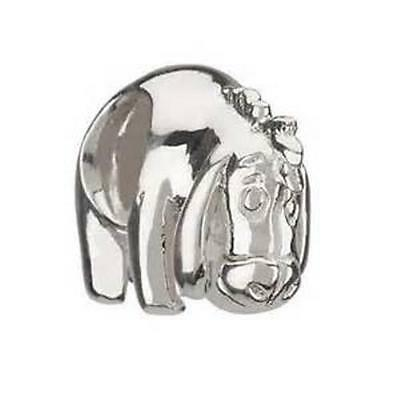 New Auth Chamilia DISNEY EEYORE Sterling Silver Charm Bead DIS-7 $40 Retired
