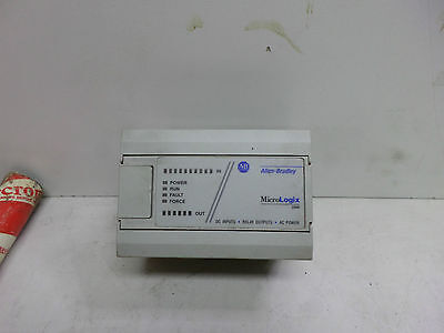 ALLEN BRADLEY MICROLOGIX 1000 PLC -- 1761-L16BWA - 85/264AC - 10 In 6 Relay Out