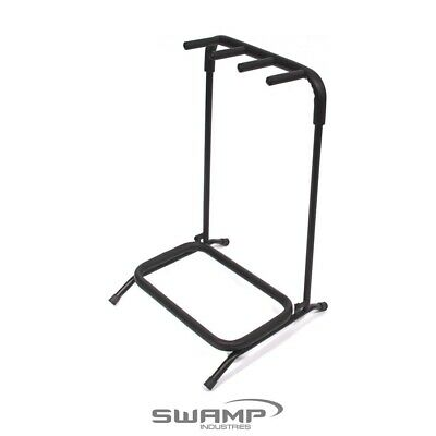 SWAMP Multi Guitar Stand - 3 Space - Folds flat for easy transport!