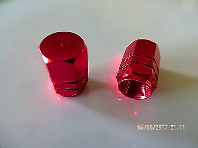 Motorcycle Valve Stem Dust Cap Covers Red Blue Black
