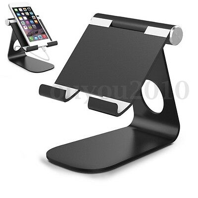 Adjustable Aluminum Portable Desk Table Stand Holder For iPad Pro Tablet Phone