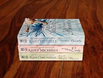Kasey Michaels Lot of 3 ~ Daughtry Family series~ Beguile Beauty Wed Barron Lady