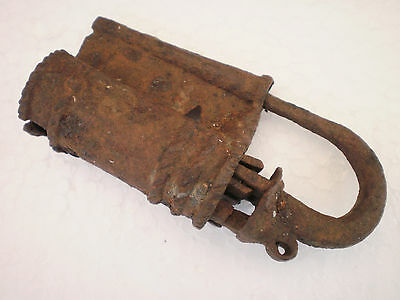 ANCIENT RARE 100% Authentic Viking Iron PADLOCK  9 - 10 century AD #2