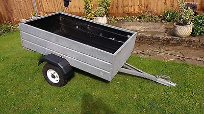 Trailer metal, fully galvanised 5' x 3 '