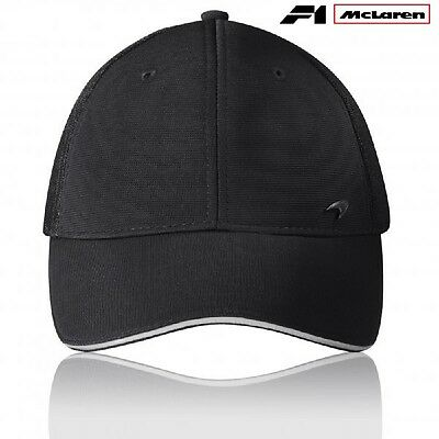 CAP Hat Formula One 1 Team McLaren Lifestyle F1 NEW Black Swoosh Logo Badge