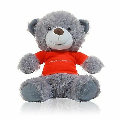TEDDY Bear Formula One 1 Vodafone McLaren Mercedes Race Win Teddy F1 Grey Gift