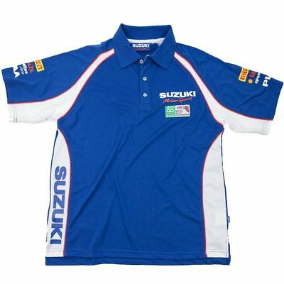 POLO SHIRT Suzuki Motorsport Swift Rallycross Rally Team NEW!