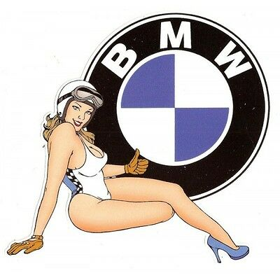 BMW right Pin Up droite Sticker°