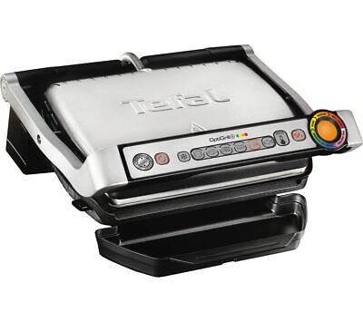 TEFAL OptiGrill+ GC713D40 Health Grill Stainless Steel Variable Temperture