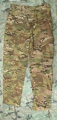 New Genuine Us Crye Multicam Ocp Flame Resistant Combat Trousers. Small-Long.