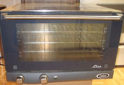 Cadco/unox Lisa Commercial Convection Pizza/cookie Oven 3 Rack  120 Volts