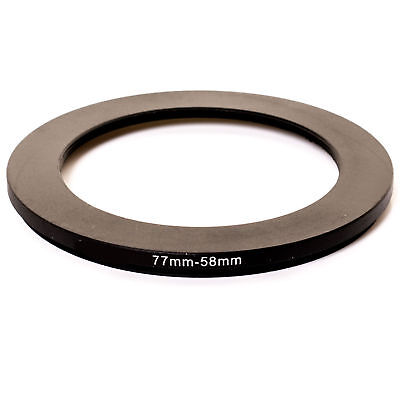Kood 77mm - 58mm Lens Stepping Step Down Filter Adapter Ring - 77 to 58 mm