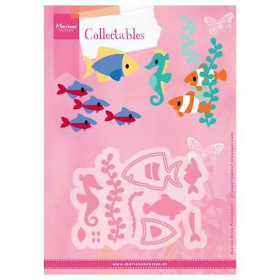 Marianne design collectables die set Elines Tropical fish seahorse col1431