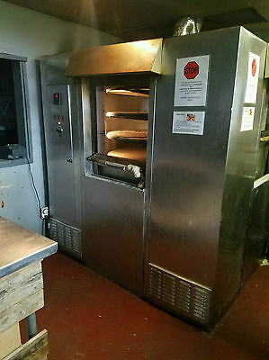 Rotoflex Two Window Gas Pizza Oven With Stone Decks