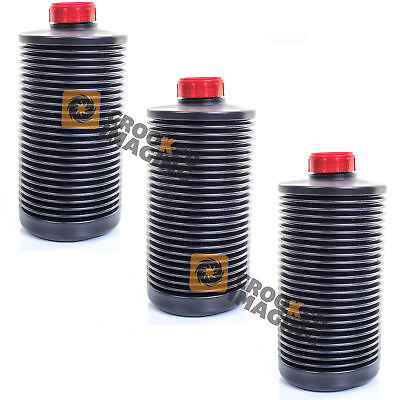 3 x AP 2 Litre Collapsible Bottle Photographic Film Developing Chemicals Storage