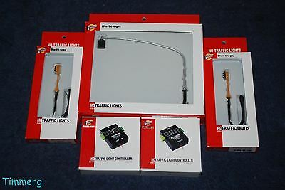 Walthers Lot of 5 HO Traffic Controller and Traffic Lights MIB **