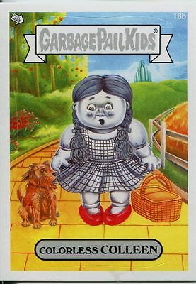 Garbage Pails Kids 2014 Series 1 Base Card 18b COLORLESS COLLEEN