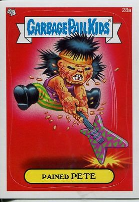 Garbage Pails Kids 2014 Series 1 Base Card 28a PAINED PETE