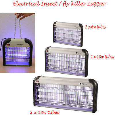 6W 10W 18W 2 Tube Electrical Zapper Ultra Violet Insect Fly Mosquito Killer