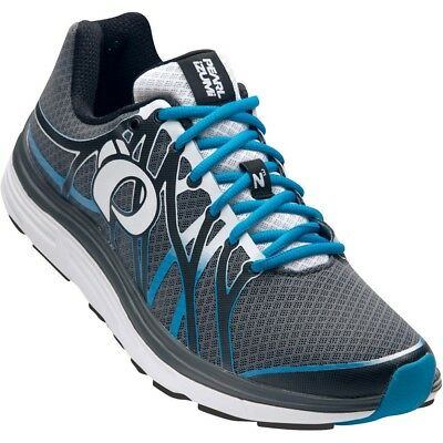 Mens Pearl Izumi Em Road N3 Running Shoes Trainers Shadow Grey/Blue Methyl