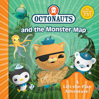 Octonauts Monster Map: A Lift-the-Flap Adventure by Simon & Schuster UK (Paperba