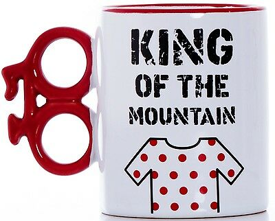 King of the Mountain Boxed Gift Mug: Cyclists, Cycling, Grimpeur, Tour de France