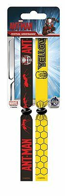 Ant-man (Ant-man Vs Yellowjacket Pack Of 2 Fabric Festival Wristbands BY PYRAMID