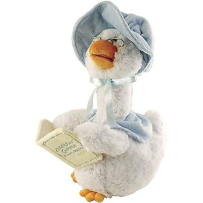Blue Mother Goose Animated Soft Plush Toy CB42860 Recites 7 Stories Nursery R...