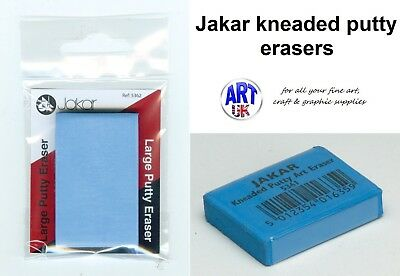 Jakar Artists Kneaded Putty Rubber/Eraser for Pastels, Charcoal & Graphite. Soft