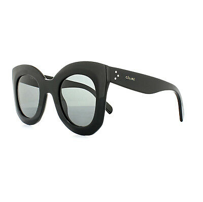 Celine Sunglasses 41093/S Marta 807 BN Black Dark Grey