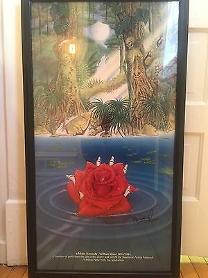 Grateful Dead 'Deadicated' Print / Hand-Signed Mikio Kennedy Rare Custom Poster