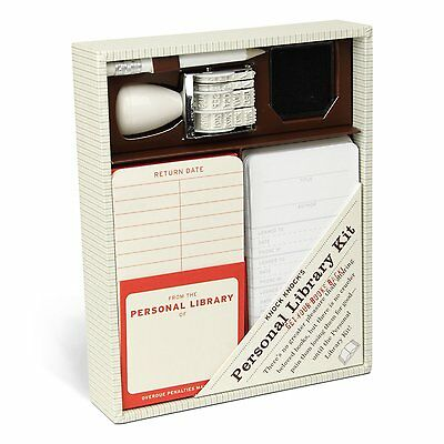 Knock Knock Personal Library Kit NEW gift set