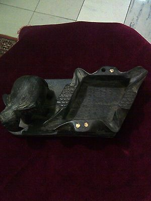Ancient Wooden Tray