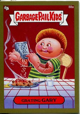 Garbage Pail Kids Mini Cards 2013 Gold Parallel Base Card 88a Grating GARY