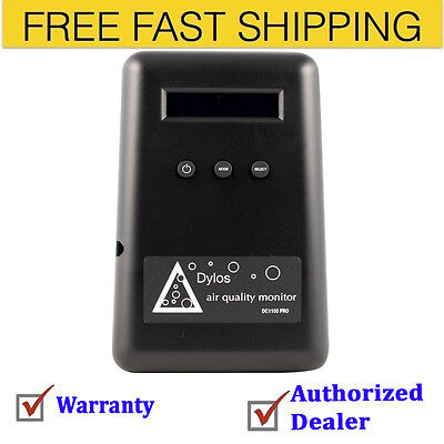 Dylos DC1100 Pro Air Quality Monitor with PC Interface Free Shipping