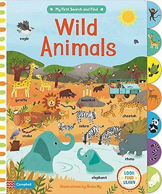 Wild Animals (My First Search and Find) by  | Board book Book | 9781447277279 |