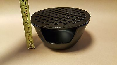 Japanese Cast Iron Teapot Tea Light Candle Warmer base riser - 6'' diameter