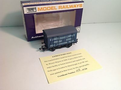 Wessex Wagons/Dapol OO Gauge Vent Van Express Dairy Co Somerset