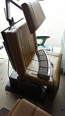Midmark 111 Powered Procedure Exam Treatment Chair Table Stirrups Tattoo